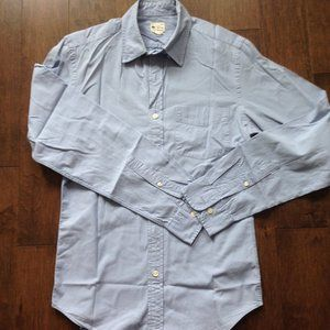 J Crew Men's Light Blue Button Down Shirt XS